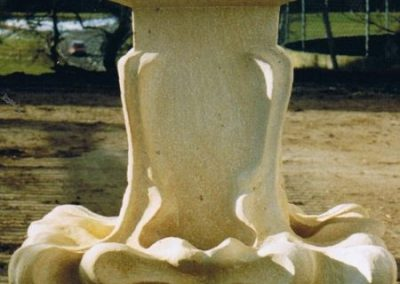 Fialenaufstand aus Sandstein, Rekonstruktion