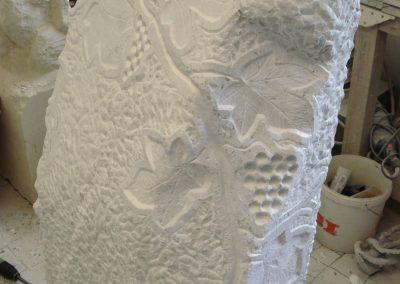 Denkmal aus Marmor