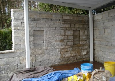 Mauerwerk Jurariemchen