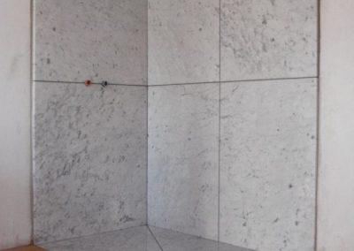 Dusche, Carrara Marmor