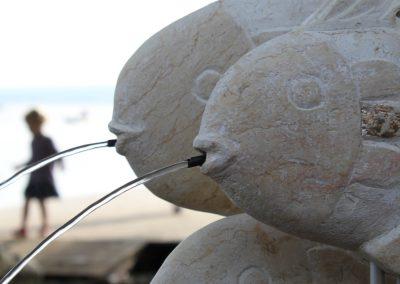 Fische Kalkstein