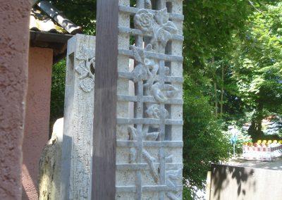 Stele mit Gitter II