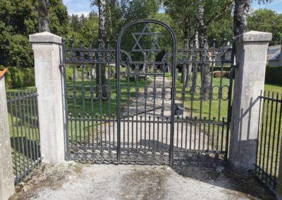 Jüdischer Friedhof Gauting, Restaurierung Betonwerkstein