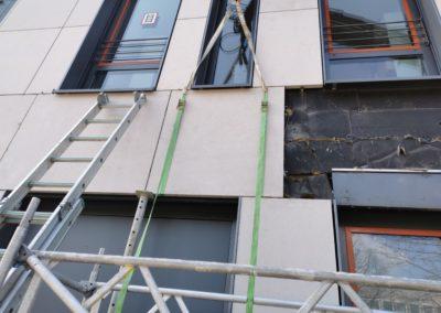 Plattenaustausch Fassade